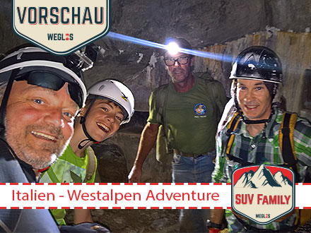 SUV Family Tour Italien - Westalpen Adventure
