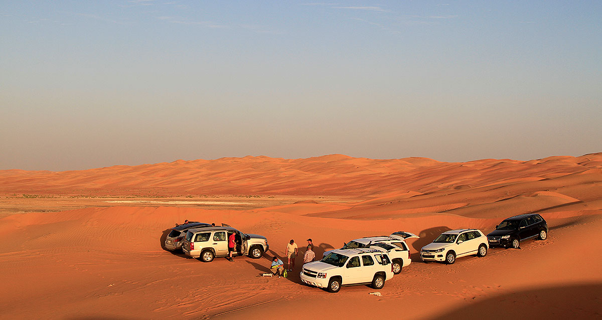 WEGLOS 2011 – Liwa Oasen in den U.A.E – Camp in der Rub al-Khali